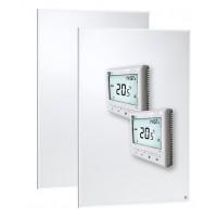 Aluminiumpanel vägg/tak X 2 60x90 500W