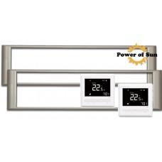 Paket 2 st ThermoGlass 06 660W + 2 st BVF 701 termostater