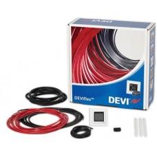 Värmekabel-KIT 10M² 1000W+ Vit DEVIreg™ Touch