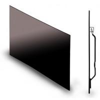 """Glaspanel """"Glassar"""" 600W svart"""